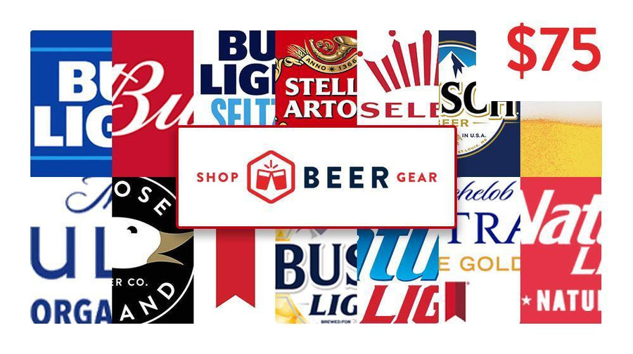 $75 Shop Beer Gear Beer Money Gift Card
