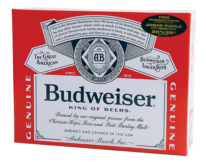 Budweiser Can Puzzle