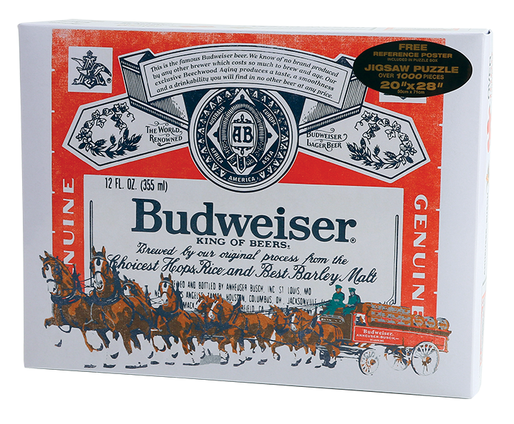Budweiser Label Puzzle