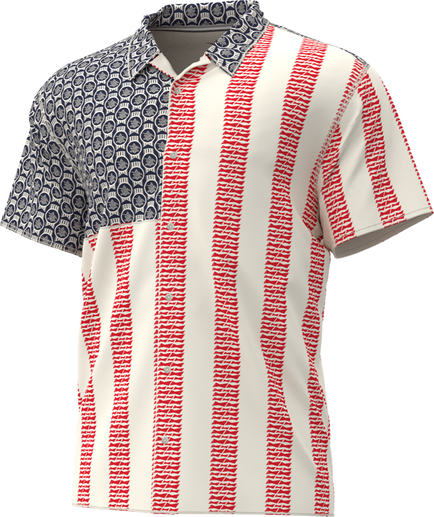 Red, White & Brews Camp Shirt