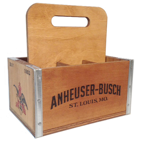AB Wooden 6-Pack Carrier