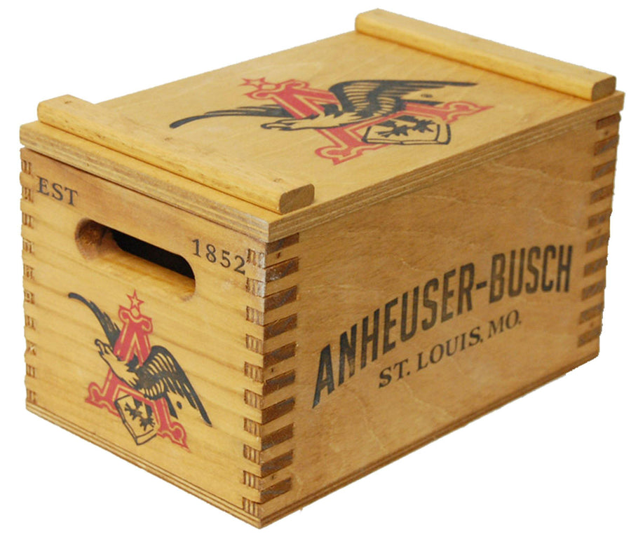 Anheuser-Busch Vintage Beer Crate- Small