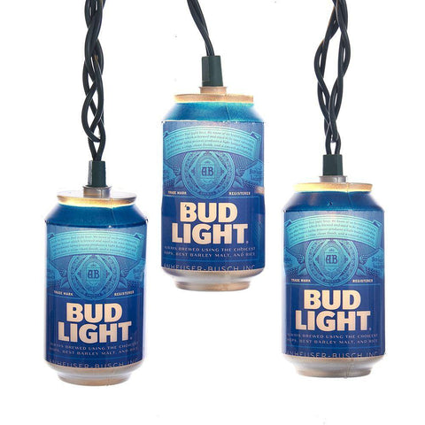 Bud Light Can Lights Set
