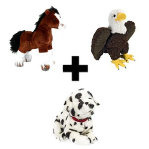 Anheuser-Busch Animal Bundle (3 for $35)
