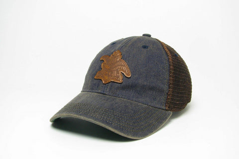 A & Eagle Leather Applique Greaser Hat