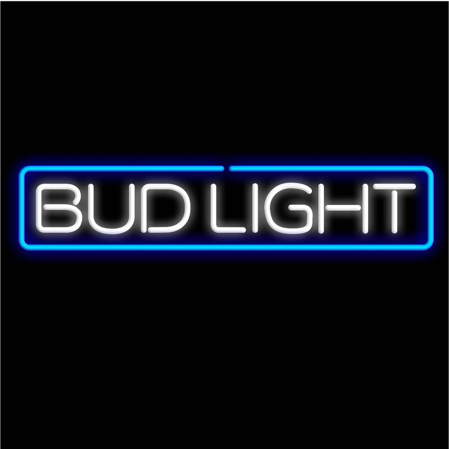 Bud Light Linear Neon Sign