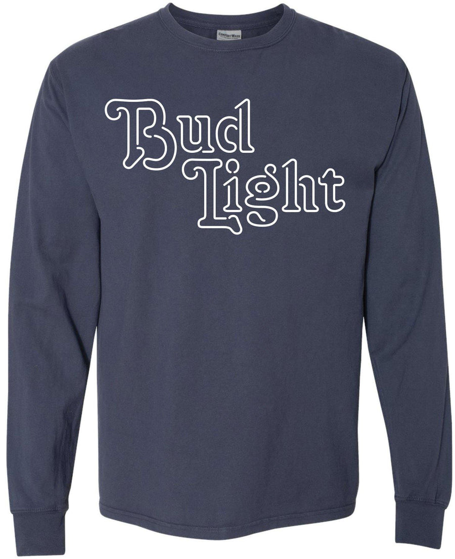 Bud Light Script Long Sleeve Tee
