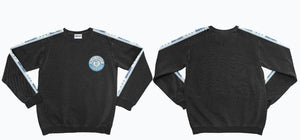 Bud Light Circle Chest Tape Sleeve Crew Sweatshirt