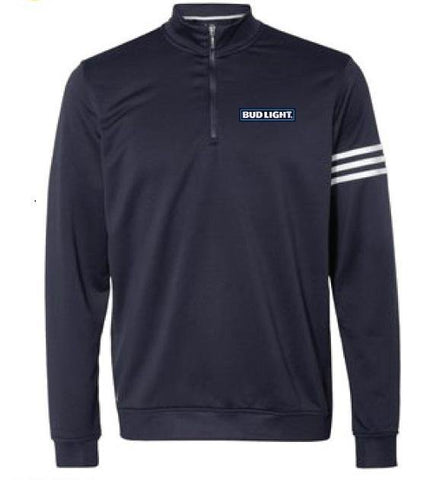 Bud Light Adidas Climalite 1/4 Zip