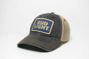 Bud Light Patch Trucker Hat