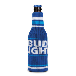 Bud Light Sweater Bottle Coolie