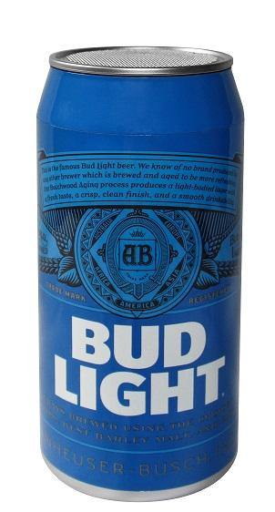 Bud Light Bluetooth Tallboy Can Speaker