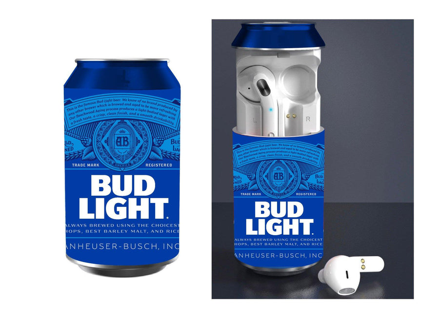 Bud Light Wireless Earbuds W/Charging Case