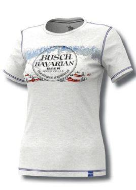 Ladies Busch Bavarian Beer Tee