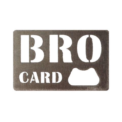 Bro Card Bottle Opener