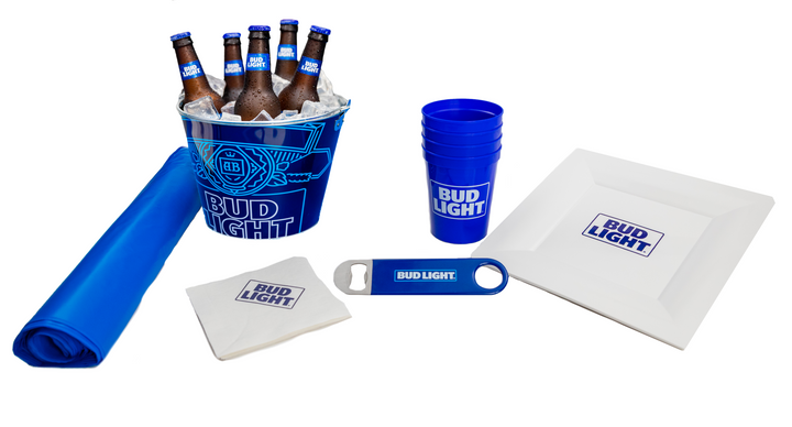Bud Light Sports Party At Home Kit