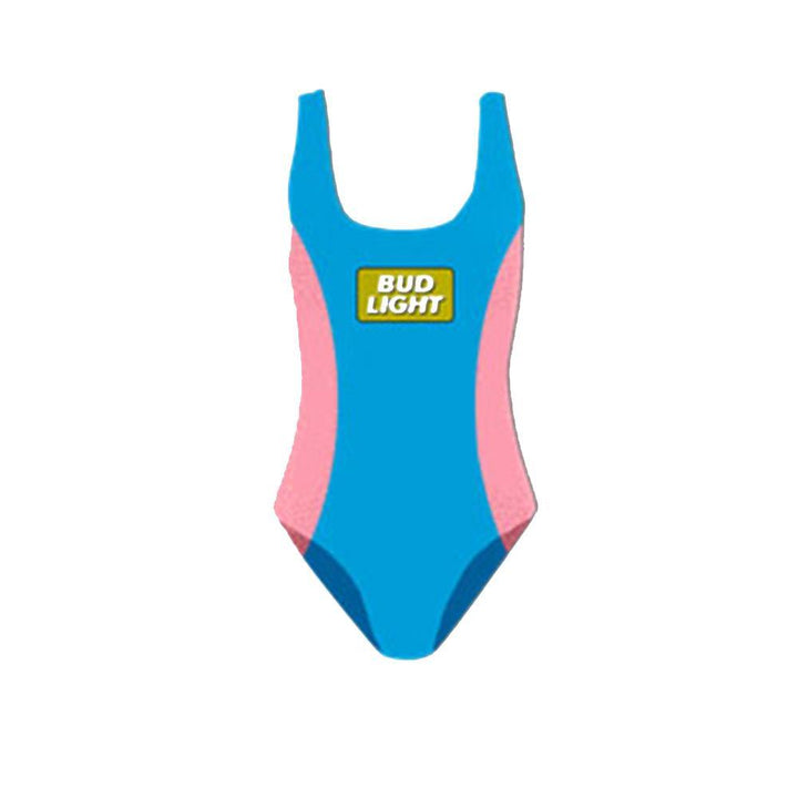 Bud Light Women's Retro 90's one piece swimsuit