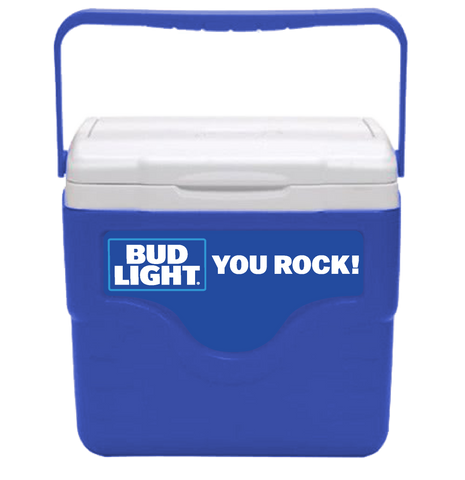 Bud Light Personalized 9 qt Cooler
