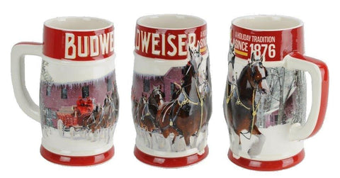 NEW! 2018 Limited Edition Clydesdales Holiday Stein