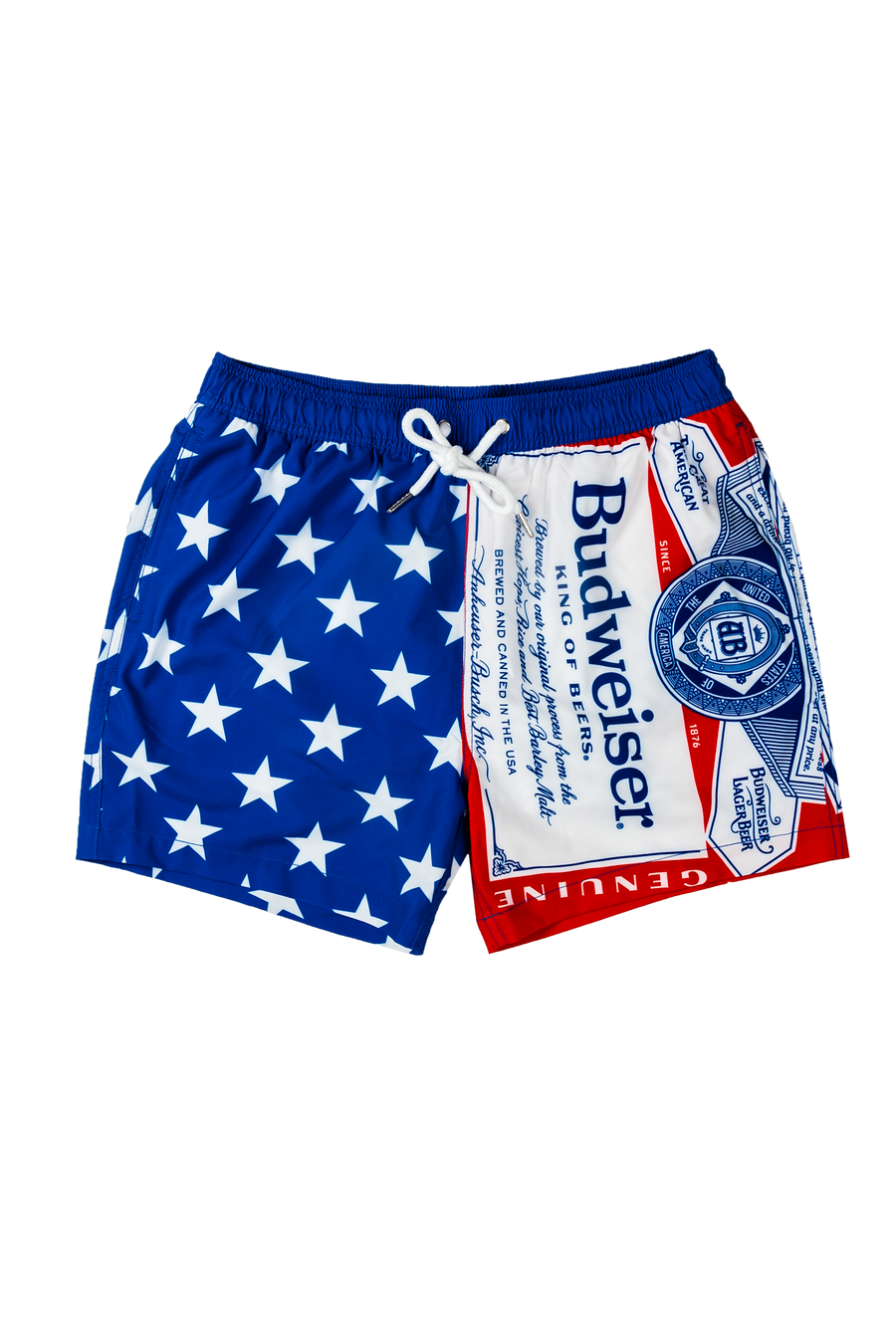 Budweiser RWB Swim Trunks