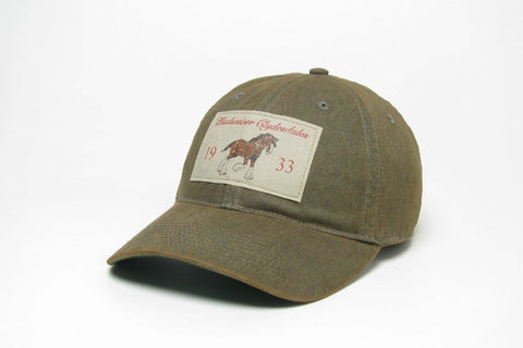 Budweiser Clydesdale Patch Hat