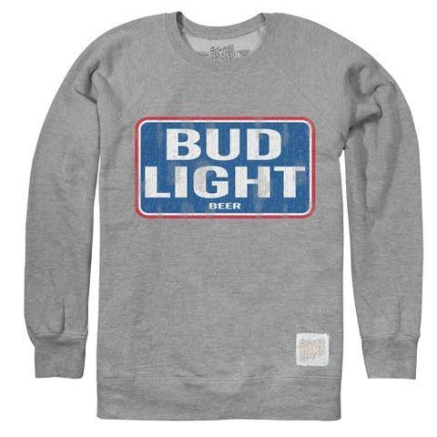 Bud Light Distressed Crew