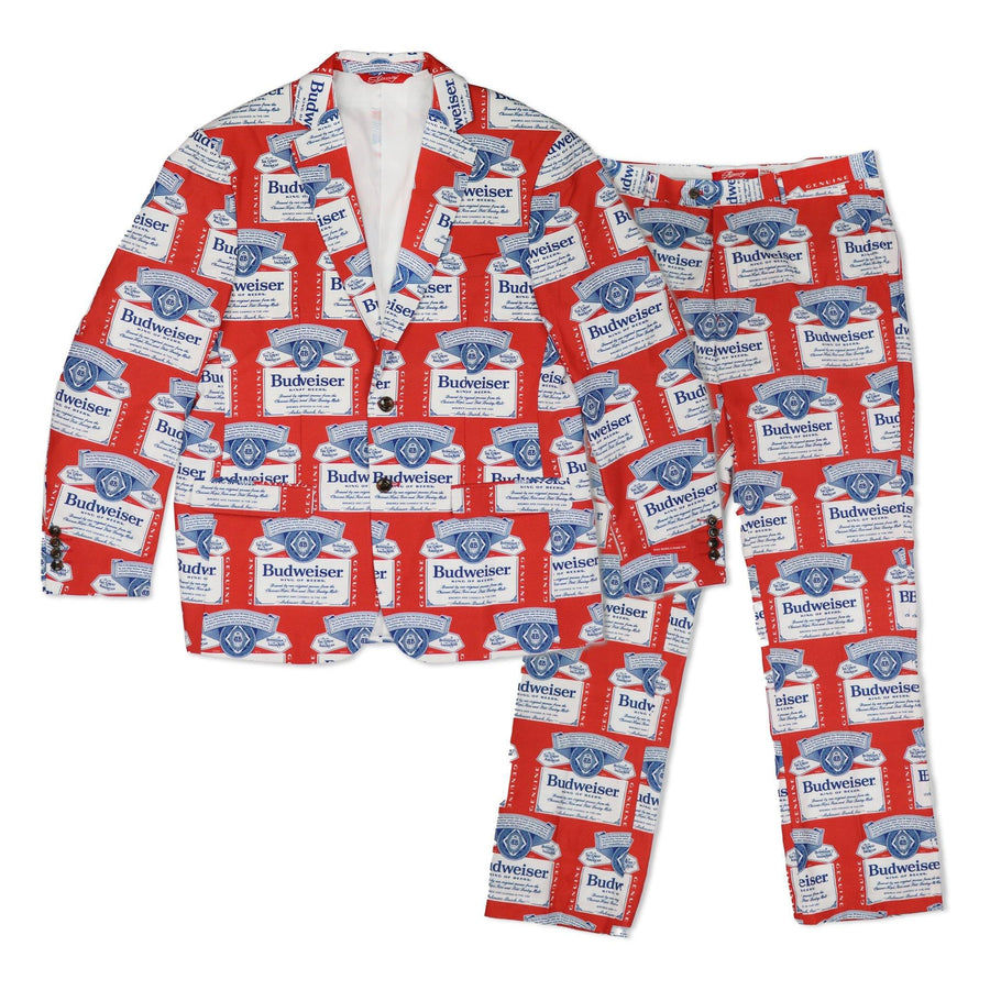 Budweiser Scatter Print Pants