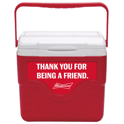Budweiser Personalized 9 qt Cooler