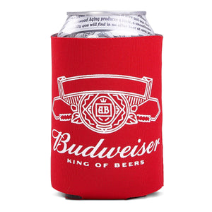 "Budweiser ""King of Beers""  Can Coolie"