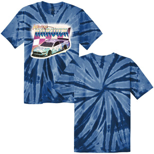 Busch Kevin Harvick Retro Tie Dye T Shirt