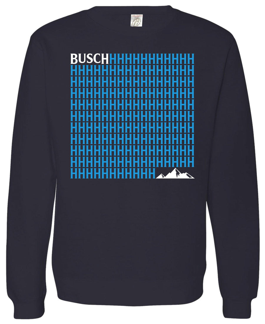 Busch Front Crew Fleece