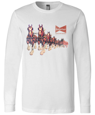 Clydesdale Hitch Long Sleeve Tee