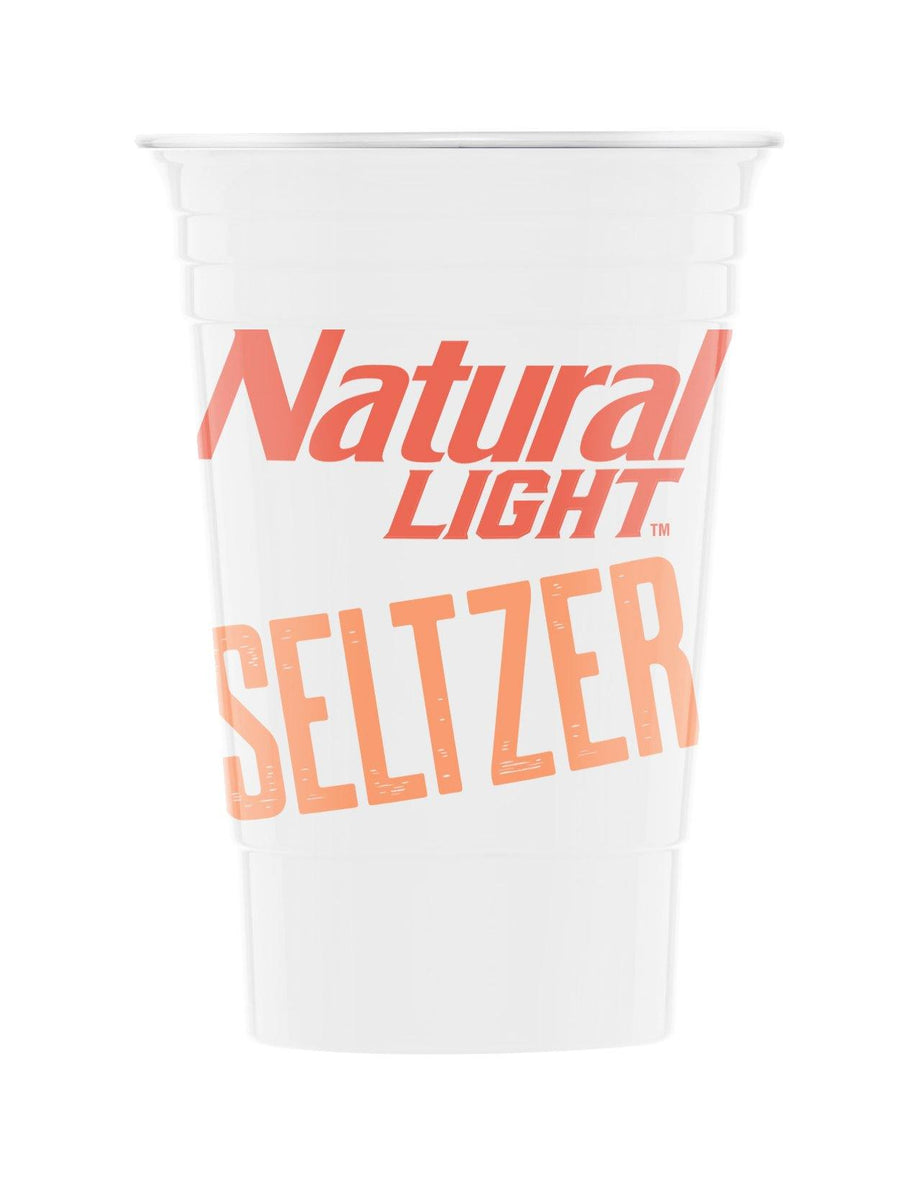 Natural Light Seltzer 3 Pack Reusable Cup