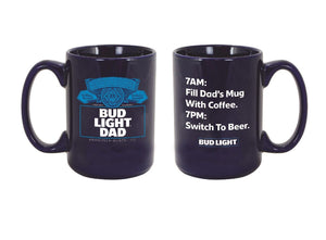 Bud Light Father's Day Mug