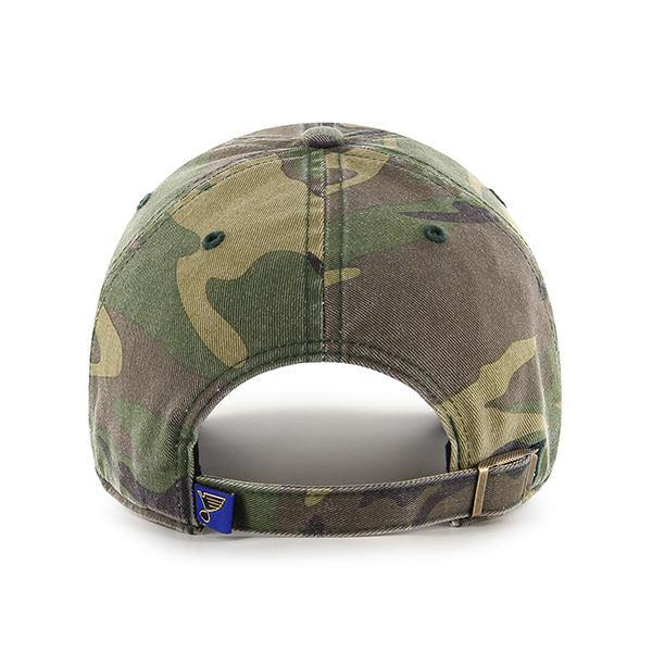 Blues '47 Brand Camo Clean Up Hat