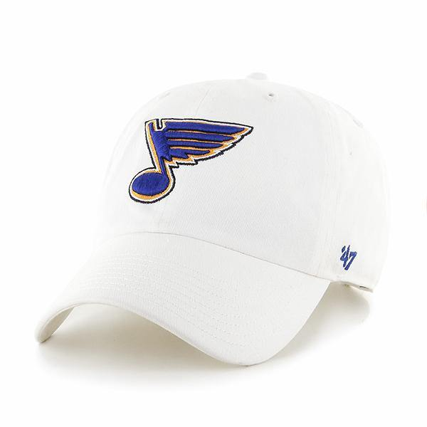 Blues '47 Brand White Blue Note Clean Up Hat