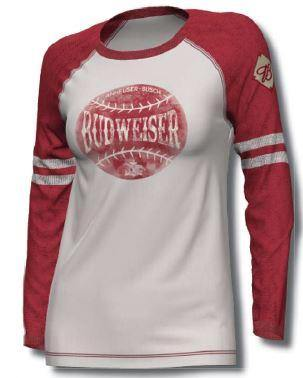 Ladies Bud Home Team Long Sleeve