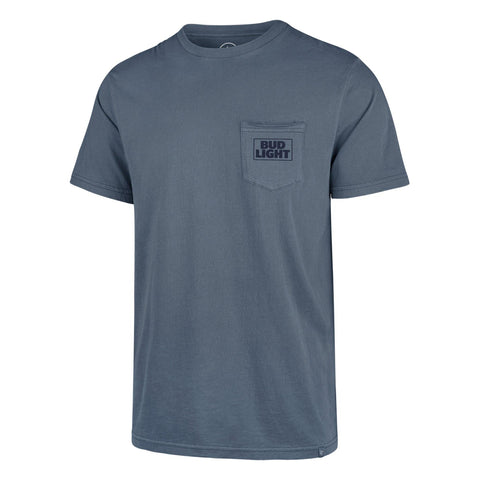 Bud Light 47 Brand Hudson Pocket Tee