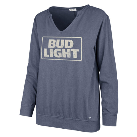 Ladies Bud Light 47 Brand Gamma Tee