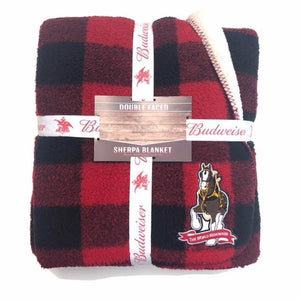 Buffalo Check Sherpa Blanket