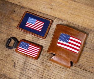 Smathers & Branson American Flag CC Wallet