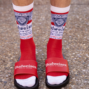 Budweiser Mens Slides
