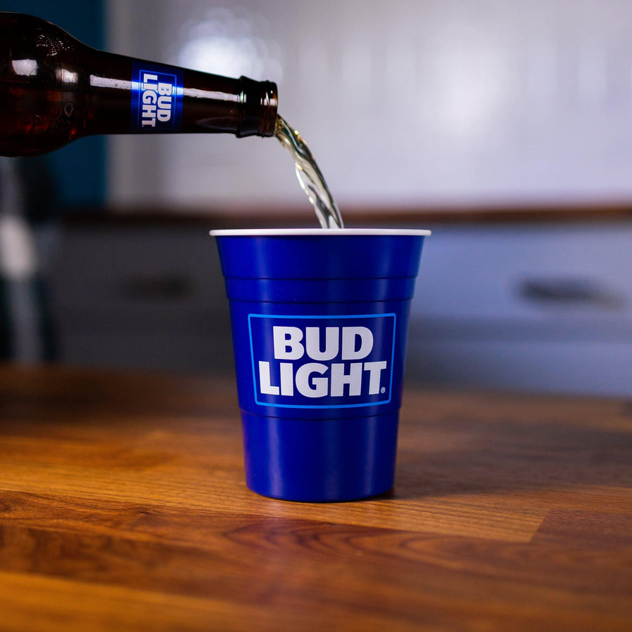 Bud Light 6 Pack Reusable Party Cup