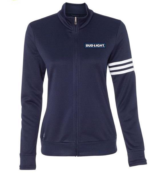 Ladies Bud Light ADIDAS Climalite Full Zip
