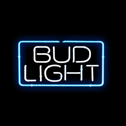 Bud Light Stacked Neon Sign