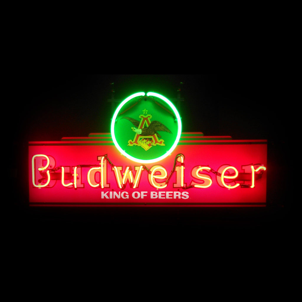 Budweiser Heritage Marquee Neon