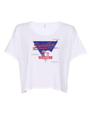 Michelob Ultra Ladies Retro Crop