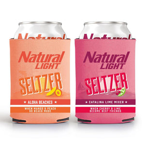 Natural Light Seltzer Coolie