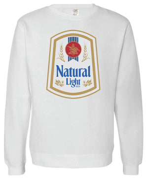 Natural Light Vintage Crew Fleece