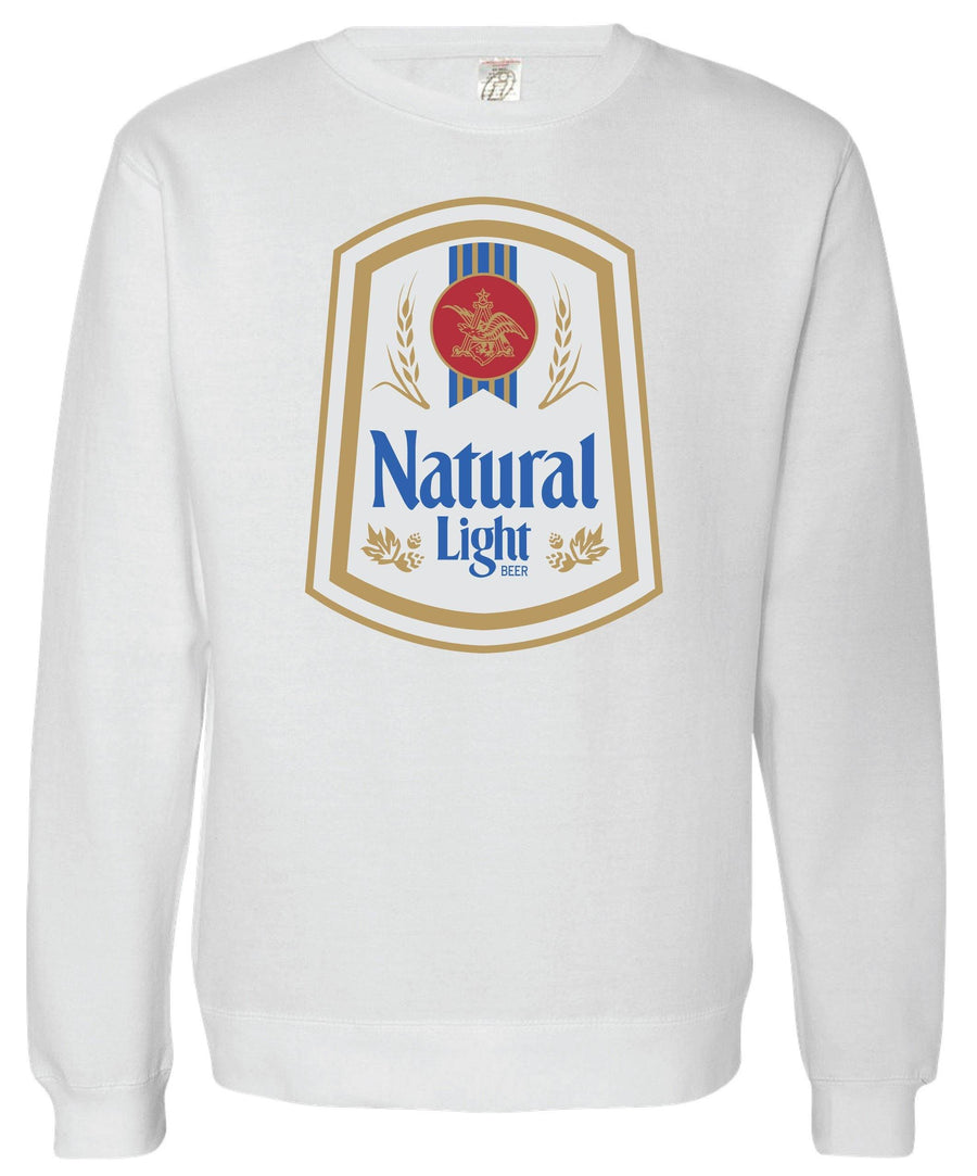 Natural Light Vintage Crew Sweatshirt